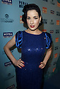 Dita Von Tesse arrives at Perez Hilton's Blue Ball birthday celebration Saturday March 26, 2011, in the Hollywood section of Los Angeles. (Donald Traill/AP Images)