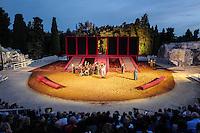 Teatro greco Siracusa - Alcesti di Euripide