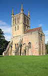 The Abbey Church of the Holy Cross, Pershore Abbey, Worcestershire, England, UK