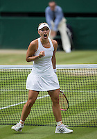 ANGELIQUE KERBER (GER)<br /> <br /> The Championships Wimbledon 2014 - The All England Lawn Tennis Club -  London - UK -  ATP - ITF - WTA-2014  - Grand Slam - Great Britain -  1st July 2014. <br /> <br /> © Tennis Photo Network