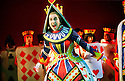 Liza Sadovy in Alice in Wonderland and Through the Looking Glass at the RSC Barbican Theatre opens on 13/11/01  pic Geraint Lewis