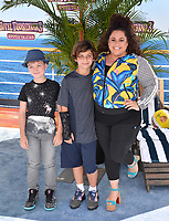 "Marissa Jaret Winokur & Children at the world premiere for ""Hotel Transylvania 3: Summer Vacation"" at the Regency Village Theatre, Los Angeles, USA 30 June 2018<br /> Picture: Paul Smith/Featureflash/SilverHub 0208 004 5359 sales@silverhubmedia.com"