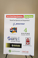 Arts & Social Change Symposium - Seattle - 2012