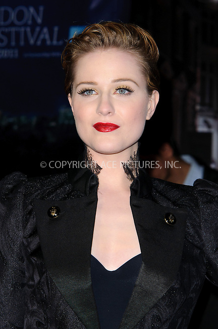 WWW.ACEPIXS.COM . . . . .  ..... . . . . US SALES ONLY . . . . .....October 19 2011, London....Evan Rachel Wood at the premiere of 'The Ides of March' at the 55th BFI London Film Festival on October 19 2011 in London....Please byline: FAMOUS-ACE PICTURES... . . . .  ....Ace Pictures, Inc:  ..Tel: (212) 243-8787..e-mail: info@acepixs.com..web: http://www.acepixs.com