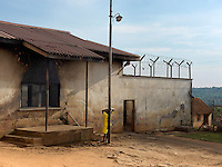 An inmate at Masaka medium security prison where most inmates are serving a maximum sentence of 5-7 years but due to Luzira Upper Prison being so full, some inmates with longer sentences have been transferred to Masaka. It holds 207 convicted men and 11 women, and 555 men and 29 women on remand.