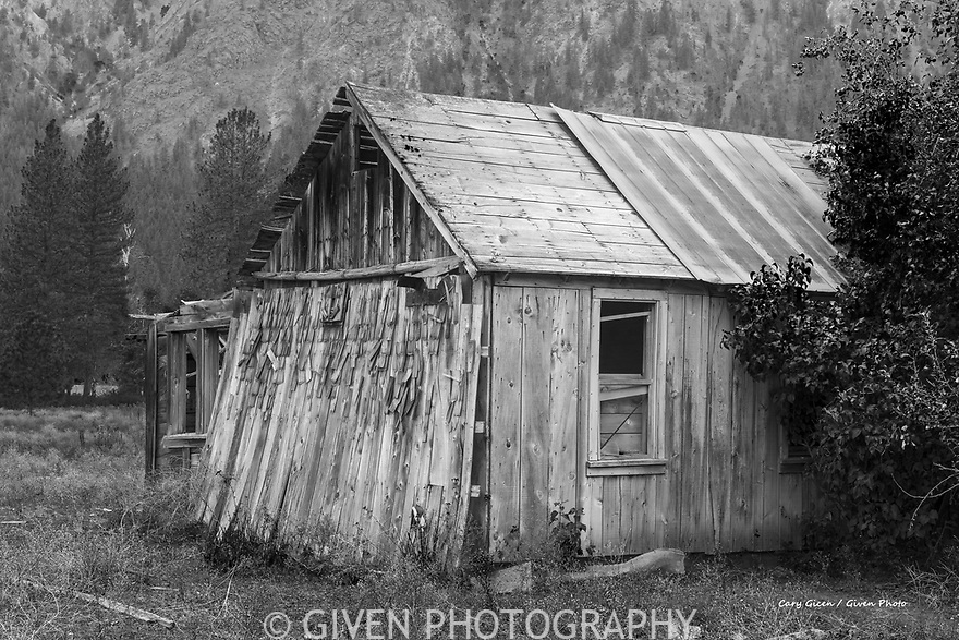 Old Building in the Methow Valley, Washington