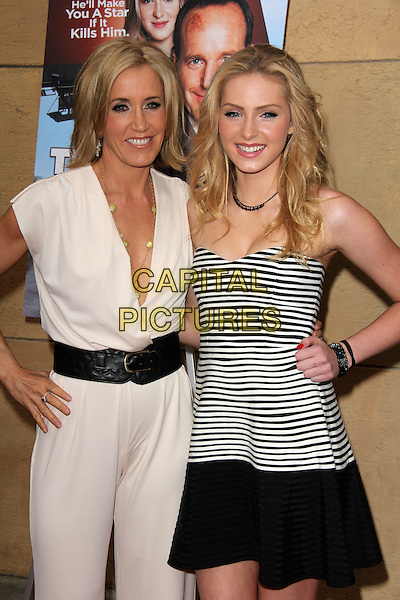 HOLLYWOOD, CA - May 22: Felicty Huffman, Saxon Sharbino at the &quot;Trust Me&quot; Special Screening, Egyptian Theater, Hollywood,  May 22, 2014.  <br /> CAP/MPI/JO<br /> &copy;Janice Ogata/MediaPunch/Capital Pictures