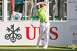 Keith Horne of South Africa tees off the first hole during the 58th UBS Hong Kong Open as part of the European Tour on 08 December 2016, at the Hong Kong Golf Club, Fanling, Hong Kong, China. Photo by Marcio Rodrigo Machado / Power Sport Images
