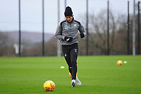 Martin Olsson of Swansea City in action during the Swansea City Training at The Fairwood Training Ground, Swansea, Wales, UK. Tuesday 04 December 2018