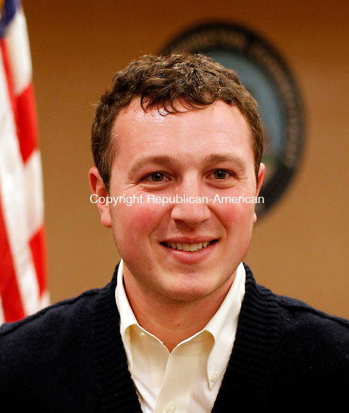 Torrington, CT- 07, March 2011-030711CM11 Darren Harrison-Panis, President Carminucci Sports group, who recently purchased the Torrington Titans.       Christopher Massa Republican-American