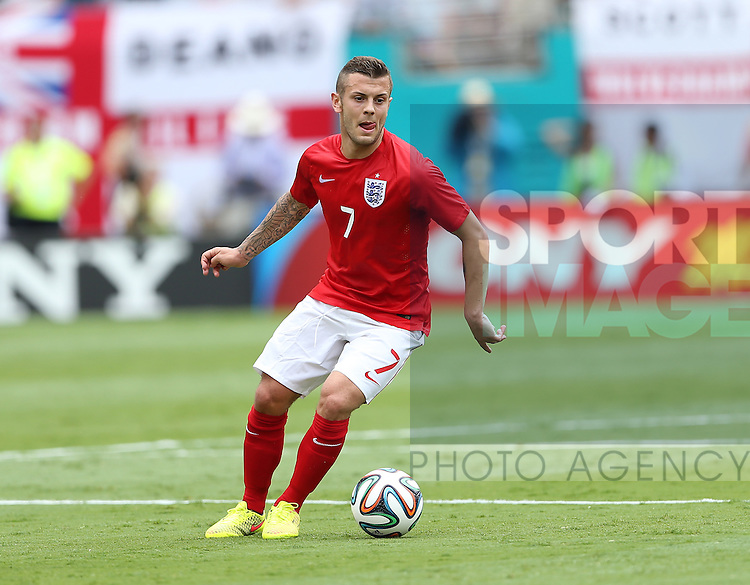England's Jack Wilshere in action<br /> <br /> England v Ecuador  - International Friendly  - Sun Life Stadium- Miami - USA - 04/06/2014  - Pic David Klein/Sportimage