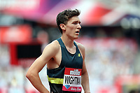 Jake Wightman of Great Britain after competing in the menís 800 metres during the Muller Anniversary Games at The London Stadium on 9th July 2017