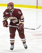 Chris Kreider (BC - 19) - The Boston College Eagles defeated the Harvard University Crimson 3-2 on Wednesday, December 9, 2009, at Bright Hockey Center in Cambridge, Massachusetts.