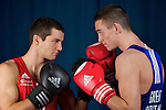 Pix: Shaun Flannery/shaunflanneryphotography.com...COPYRIGHT PICTURE>>SHAUN FLANNERY>01302-570814>>07778315553>>..27th October 2010............GB Boxing, English Institute of Sport, Sheffield..Antony Fowler and Callum Smith