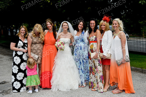 James and Sarah Wedding 14.7.12.Our Lady of Walsingham Church and Isla Gladstone Conservatory Stanley Park Liverpool