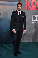 Toby Kebbell at the premiere for &quot;Kong: Skull Island&quot; at Dolby Theatre, Los Angeles, USA 08 March  2017<br /> Picture: Paul Smith/Featureflash/SilverHub 0208 004 5359 sales@silverhubmedia.com