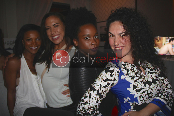 "Nadège August, Alyssa LeBlanc, Alanna Topps, Irina Aylyarova<br /> at the ""Struggleing"" For Your Consideration event hosted by A. Whole Productions and Brent Harvey Films, Crossroads Kitchen, Los Angeles, CA 06-06-18<br /> David Edwards/DailyCeleb.com 818-249-4998"