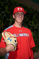 Matthew Liberatore (32) of Mountain Ridge High School in Peoria, Arizona poses for a photo before the Under Armour All-American Game presented by Baseball Factory on July 29, 2017 at Wrigley Field in Chicago, Illinois.  (Mike Janes/Four Seam Images)