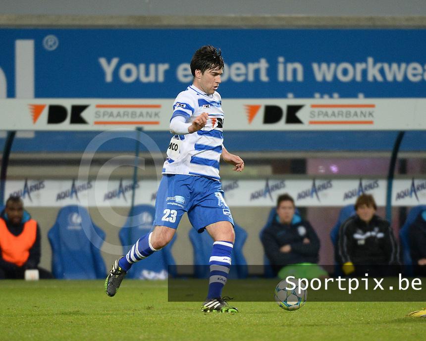 AA Gent - KV Kortrijk : Ervin Zukanovic <br /> foto VDB / Bart Vandenbroucke