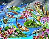 Lori, REALISTIC ANIMALS, REALISTISCHE TIERE, ANIMALES REALISTICOS, paintings+++++Frog's Eye View_NEW_2013_72,USLS15,#A#, EVERYDAY ,puzzles