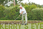 TEE OFF: Paudie Casey hits it straight down the fairway as he Tee's off on the 1st in the Ballyheigue Castle Golf Club Captain's Prize on Sunday.   Copyright Kerry's Eye 2008