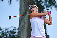 Lexi Thompson (USA) watches her tee shot on 10 during round 3 of the 2019 US Women's Open, Charleston Country Club, Charleston, South Carolina,  USA. 6/1/2019.<br /> Picture: Golffile | Ken Murray<br /> <br /> All photo usage must carry mandatory copyright credit (© Golffile | Ken Murray)