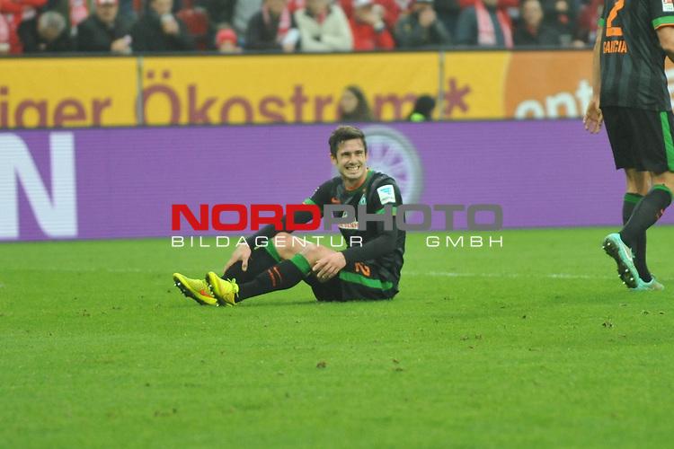 01.11.2014, cofacearena, Mainz, GER, FSV Mainz 05 vs. Werder Bremen, im Bild: Fin Bartels&nbsp;(#22, Werder Bremen)<br /> <br /> Foto &copy; nordphoto / Fabisch