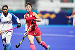 Minami Shimizu (JPN), <br /> AUGUST 31, 2018 - Hockey : <br /> Women's Final match <br /> between Japan 2-1 India  <br /> at Gelora Bung Karno Hockey Field <br /> during the 2018 Jakarta Palembang Asian Games <br /> in Jakarta, Indonesia. <br /> (Photo by Naoki Morita/AFLO SPORT)