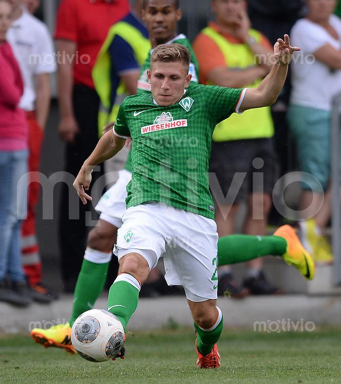 FUSSBALL  1. Bundesliga   2013/2014   Testspiel in Zell am Ziller SV Werder Bremen - 1860 Muenchen      10.07.2013 Levent Aycicek (SV Werder Bremen) am Ball