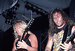 SLAYER Slayer, Jeff Hanneman, Kerry King, Photo By David Plastik/IconicPix 1988 Los Angeles