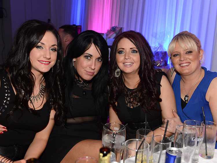 Lisa Marie Dillon, Rita Kavanagh, Karen Delaney and Denise Nearey pictured at the Stephanie Smith benefit night in The Star Bar. Photo:Colin Bell/pressphotos.ie