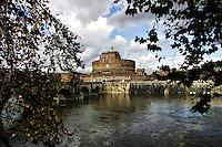 Castel Sant'Angelo<br /> Roma, 22 Novembre 2010.<br /> Photo  Serena Cremaschi Insidefoto