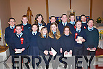 Glenbeigh National School pupils who were confirmed on Tuesday in St James Church.