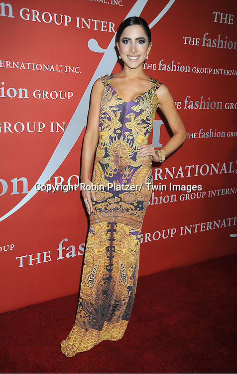 Caren Brooks attends the Fashion Group International's 29th Annual  Night of Stars Gala on October 25, 2012 at Cipriani Wall Street in New York City.