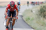 Eternal breakaway man Thomas De Gendt (BEL) Lotto-Soudal during Stage 13 of the 2017 La Vuelta, running 198.4km from Coin to Tomares, Seville, Spain. 1st September 2017.<br /> Picture: Unipublic/&copy;photogomezsport | Cyclefile<br /> <br /> <br /> All photos usage must carry mandatory copyright credit (&copy; Cyclefile | Unipublic/&copy;photogomezsport)