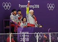OLYMPIC GAMES: PYEONGCHANG: 15-02-2018, Gangneung Oval, Long Track, 10.000m Men, Jan Zwier (starter), ©photo Martin de Jong
