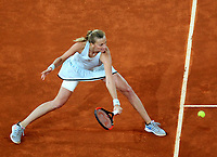 Petra Kvitova, Czech Republic, during Madrid Open Tennis 2018 Final match. May 12, 2018.(ALTERPHOTOS/Alberto Simon)