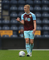 Burnley's Ben Mee<br /> <br /> Photographer Mick Walker/CameraSport<br /> <br /> Football Pre-Season Friendly - Preston North End  v Burnley FC  - Monday 23st July 2018 - Deepdale  - Preston<br /> <br /> World Copyright &copy; 2018 CameraSport. All rights reserved. 43 Linden Ave. Countesthorpe. Leicester. England. LE8 5PG - Tel: +44 (0) 116 277 4147 - admin@camerasport.com - www.camerasport.com