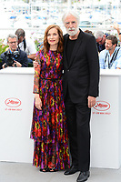"22 May 2017 - Cannes, France - Isabelle Huppert, Michael Haneke. ""Happy End"" Photocall - 70th Annual Cannes Film Festival held at Palais des Festivals. Photo Credit: Jan Sauerwein/face to face/AdMedia"