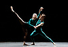 English National Ballet <br /> at Sadler's Wells, London, Great Britain <br /> rehearsal<br /> 22nd March 2017 <br /> <br /> <br /> In The Middle, Somewhat Elevated <br /> by William Forsythe <br /> <br /> <br /> James Streeter <br /> Tiffany Herdman <br /> <br /> Photograph by Elliott Franks <br /> Image licensed to Elliott Franks Photography Services