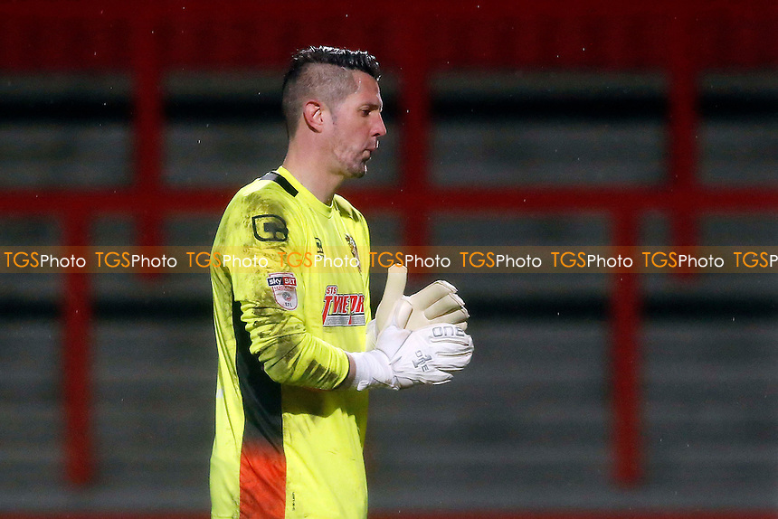 Chris Day of Stevenage during Stevenage vs Leyton Orient, Sky Bet EFL League 2 Football at the Lamex Stadium on 28th February 2017