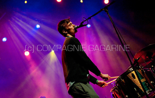 Danish rock group Efterklang performing at the De Nachten literature festival in Antwerp (Belgium, 07/11/2009)