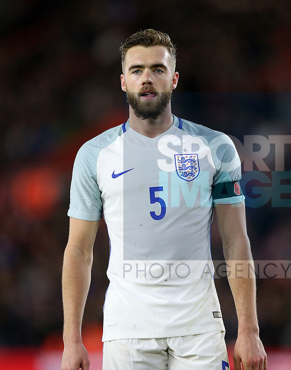 England's Callum Chambers in action during the Under 21 International Friendly match at the St Mary's Stadium, Southampton. Picture date November 10th, 2016 Pic David Klein/Sportimage