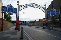 General view of the grounds entrance ahead of AFC Wimbledon vs Bradford City, Sky Bet EFL League 1 Football at the Cherry Red Records Stadium on 2nd October 2018