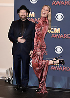 LAS VEGAS, NV - APRIL 15:  Sugarland in the press room at the 53rd Annual Academy of Country Music Awards at MGM Grand Garden Arena on April 15, 2018 in Las Vegas, Nevada. (Photo by Scott Kirkland/PictureGroup)