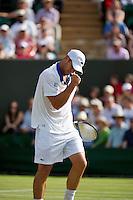 28-06-12, England, London, Tennis , Wimbledon, Andy Roddick   Mardy Fish