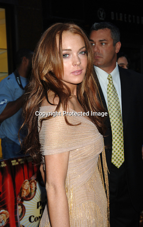 "Lindsay Lohan..at The New York Premiere of ""A Prairie Home Companion""..on June 4, 2006 at The DGA Theatre...Robin Platzer, Twin Images"