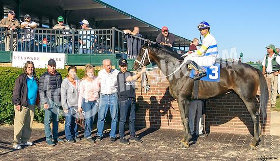 Marrakech winning at Delaware Park on 10/15/16