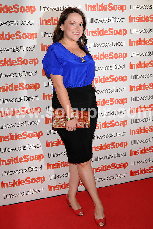 **ALL ROUND PICTURES FROM SOLARPIX.COM**.**WORLDWIDE SYNDICATION RIGHTS**.Guests arrive for the Inside Soap Awards at Gilgamesh in Camden, London, UK. 29th September 2008..This pic: Sian Reese-Williams..JOB REF: 7486 SSD     DATE: 29_09_2008.**MUST CREDIT SOLARPIX.COM OR DOUBLE FEE WILL BE CHARGED* *UNDER NO CIRCUMSTANCES IS THIS IMAGE TO BE REPRODUCED FOR ANY ONLINE EDITION WITHOUT PRIOR PERMISSION*