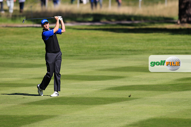 David HOWELL (ENG) during round 1 of the 2015 BMW PGA Championship over the West Course at Wentworth, Virgina Water, London. 21/05/2015<br /> Picture Fran Caffrey, www.golffile.ie: